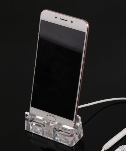 COMER  vertical Display Acrylic stands holders for mobile phone on digital retail stores