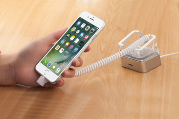 COMER new acrylic display cellphone security charger display anti theft  devices solutions - Comerstand.com