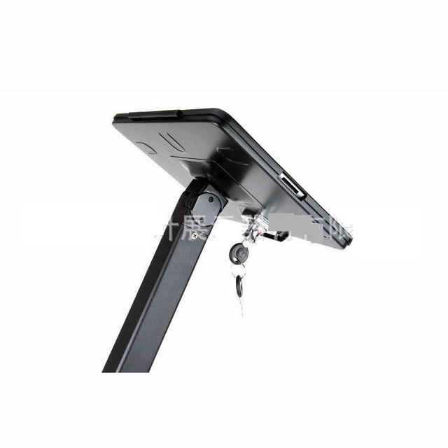 COMER advertising equipment anti-theft display stands for tablet ipad in shop, hotels, restaurant