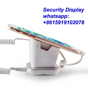 COMER  anti-lost stores mobile phone display charging and alarm sensor stand for digital stores - Comerstand.com