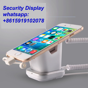COMER  anti-lost cell phone display charging and alarm sensor stand for mobile phone stores - Comerstand.com