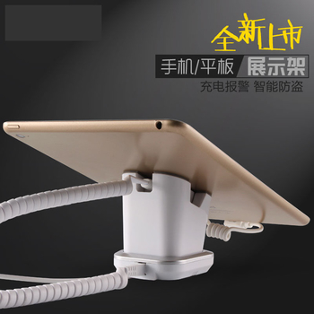 COMER mobile phone stpres security display charging and alarm sensor stand charging station - Comerstand.com