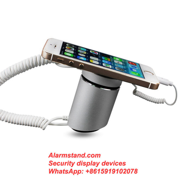 COMER single alarm Anti theft Display Cradle Shelves for Cell Phone retail stores with charging cord