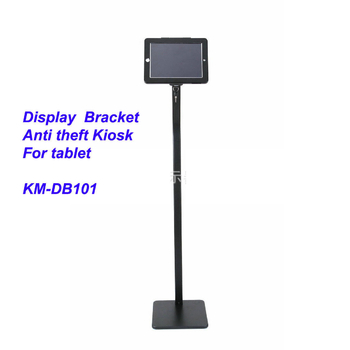 COMER advertising equipment display kiosk for tablet ipad in shop, hotels, restaurant