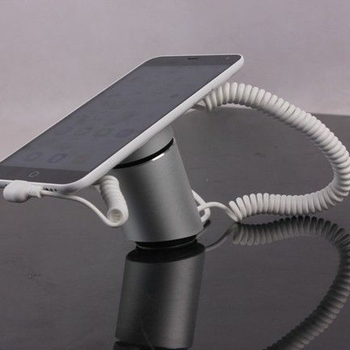 COMER secured display stands for gsm mobile phone desk display anti-theft alarm sensor and charger cord