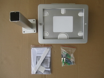 COMER wall mount anti-theft display rack for tablet ipad in shop, hotels, restaurant