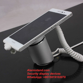 COMER type c celllphone Alarm Magnetic desktop Mounted Secure Retail Display Holder