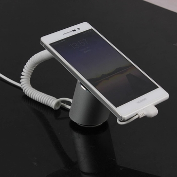 COMER anti-lost alarm Aluminum Cell Phone Holder Mobile Phone Stand Universal Desktop Charging Dock for iPhone Huawei/LG