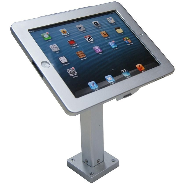 COMER wall mount anti-theft display for tablet ipad in shop, hotels, restaurant