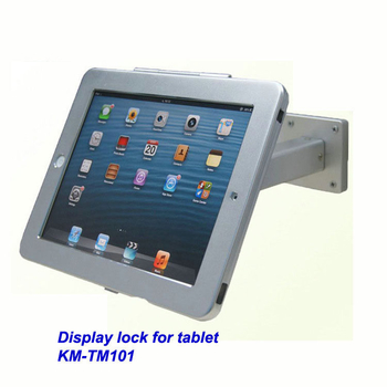 COMER wall mount anti-theft display stands for tablet ipad in shop, hotels, restaurant