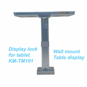 COMER wall mount anti-theft display stands for tablet ipad in shop, hotels, restaurant - Comerstand.com
