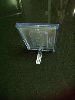 COMER Transparent Acrylic Display Sheet Board Panel for Inserts, Tag, Brochure, Leaflet, Catalog - Comerstand.com