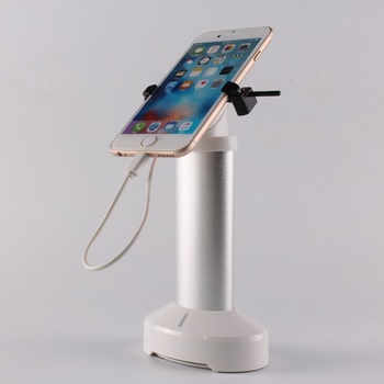 COMER open display anti-lost cell phone display charging and alarm sensor magnetic stand with clip for mobile phone