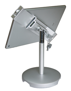 COMER advertising equipment display stand for tablet ipad in shop, hotels, restaurant - Comerstand.com