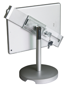 COMER advertising equipment display stand for tablet ipad in shop, hotels, restaurant
