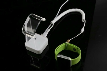 COMER anti-theft alarm cable lock smart watch display stand for cell phone accessories stores
