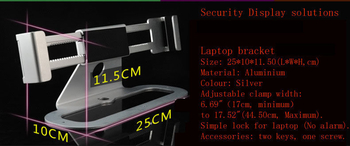 COMER anti-shoplifting notebook computer lock, anti theft for laptop, security lock notebook stands - Comerstand.com