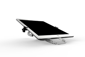 COMER display stands alarm metal gripper clip lock devices for tablet floor display holders - Comerstand.com