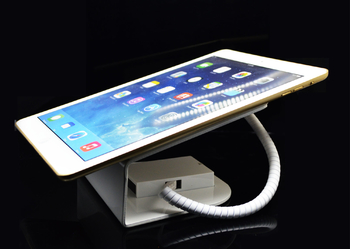 COMER Powerful tablet cellphone security display charging and alarm sensor magnetic stand with lock - Comerstand.com