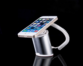 COMER desktop display mobile phone charging and alarm sensor stands with charger cord and clip lock - Comerstand.com